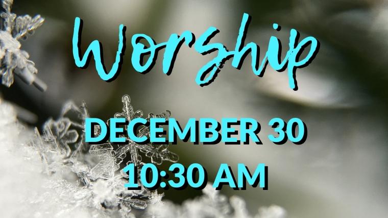 NYE Worship